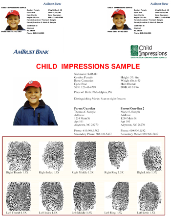 Child ID photography