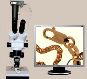 Camera control application for microscopy