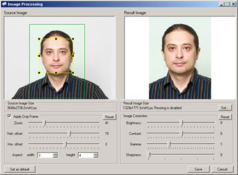ID photo in Asure ID software
