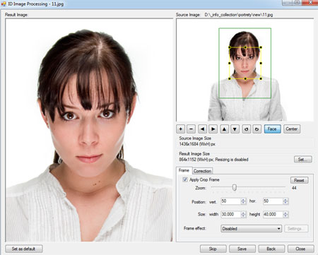 ID Photo Processor: batch photo processing