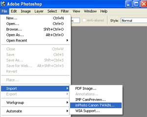 Olympus and Canon camera control software